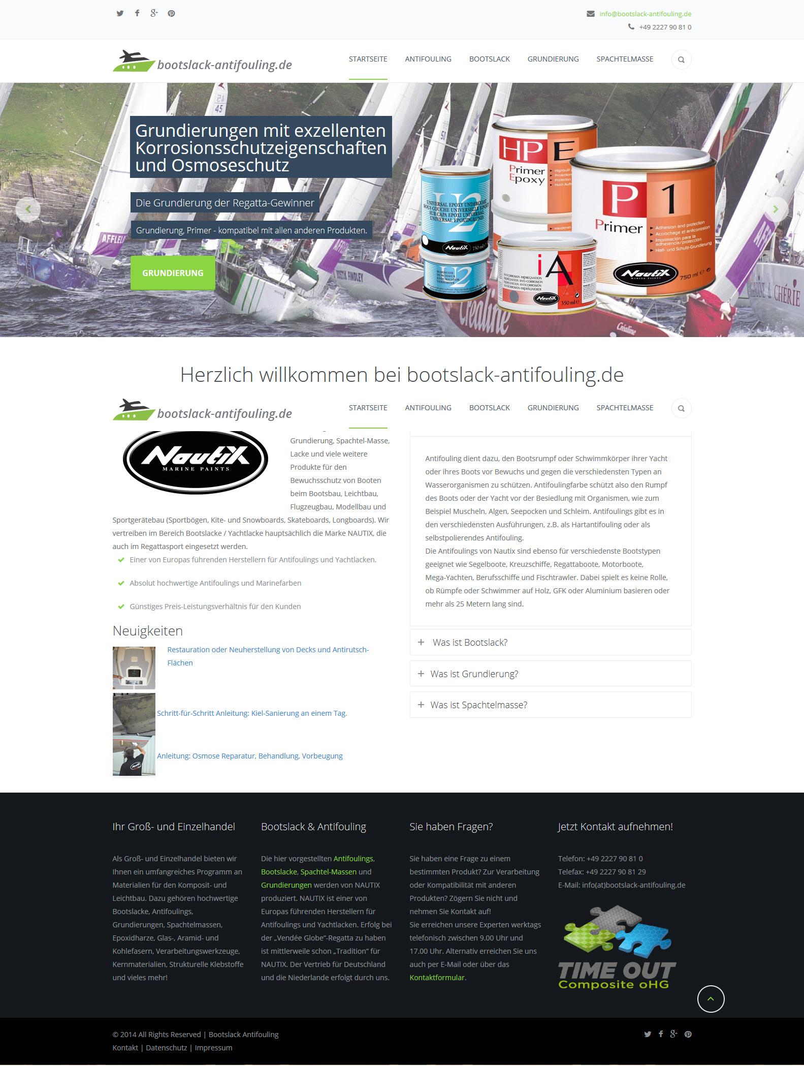 Produkt-Website