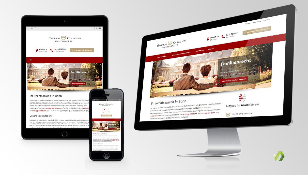 Responsive Website & Suchmaschinenoptimierung